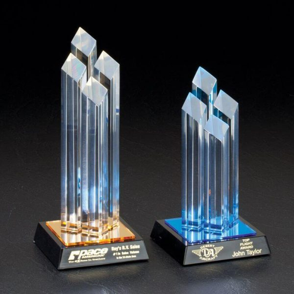Brunswick Diamond Tower Acrylic Award