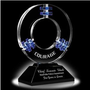 Galaxy Quest Optical Crystal Award