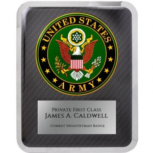 U.S. Army Hero Series Award Plaque
