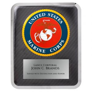 U.S. Marines Hero Series Award Plaque