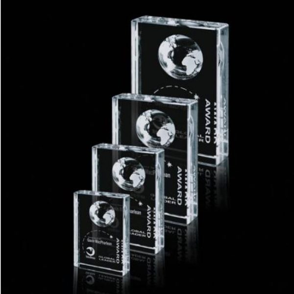 Global Recognition Award Optical Crystal Stands
