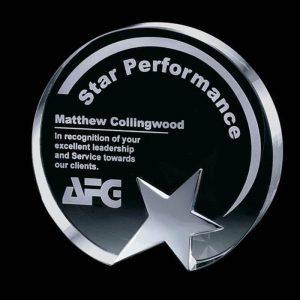 Top Star Optical Crystal Award