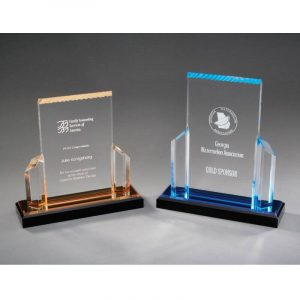 Bonneville Frosted Post Acrylic Award