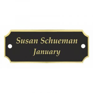Pre-Paid Engraved Perpetual Plaque Plate Program