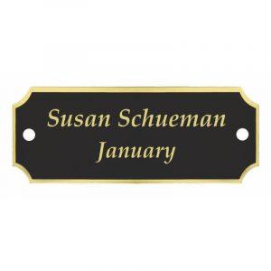 Pre-Paid Engraved Perpetual Plaque Plate Program