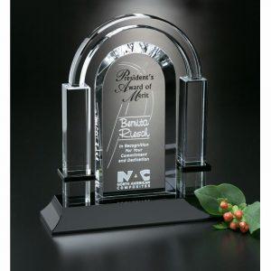 Biltmore Arch Optical Crystal Award