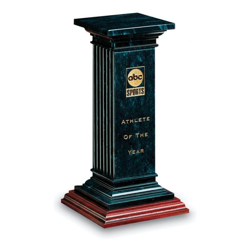 Black Marble Luxor Pillar Award