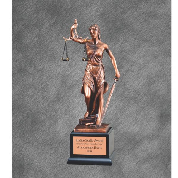 Lady of Justice Statue Award