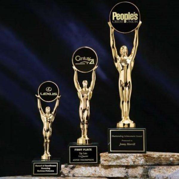 Champion of Champions Metal Statue Award