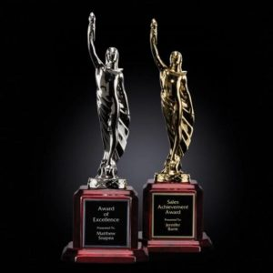 Supremacy Award Hand Cast 24K Gold or Silver