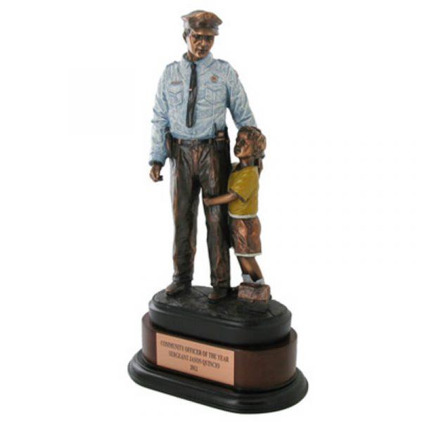 Policeman Hero Statue Award
