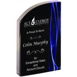 Brownsburg Blue Smoke Acrylic Award
