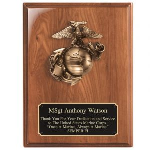 Majestic Bronze Marine Casting Piano Finish Plaque