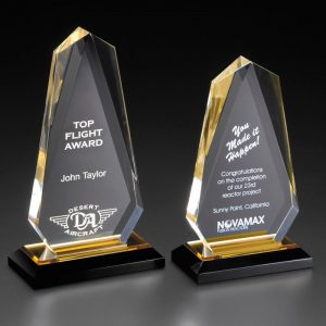 Jewel Reflections Peak Acrylic Award