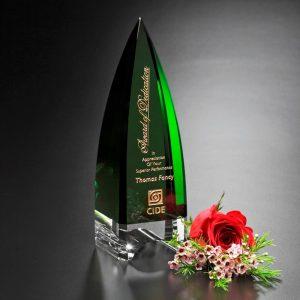 Culmination of Dedication Crystal Award